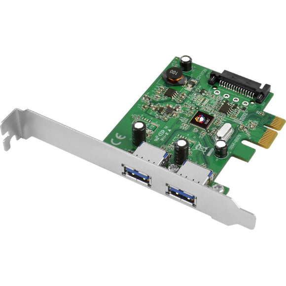 SIIG USB 3.1 2-Port PCIe Host Adapter(1x) - Type-A