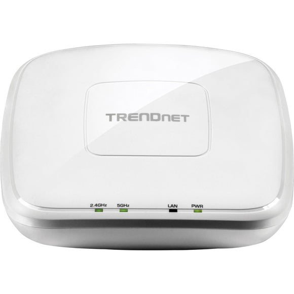 TRENDnet TEW-821DAP IEEE 802.11ac 1.17 Gbit-s Wireless Access Point - ISM Band - UNII Band