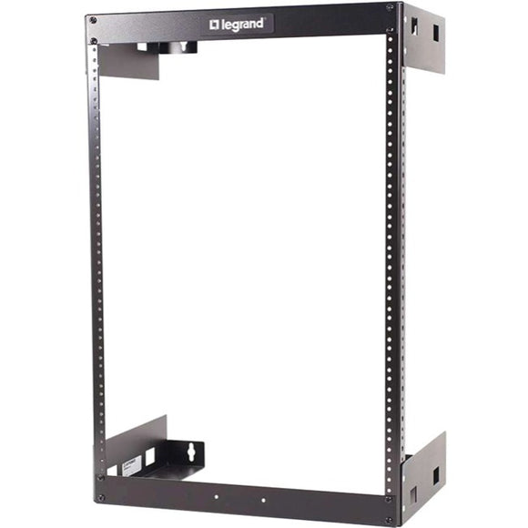 Legrand 15u Wall Mount Open Frame Rack - 12in Deep