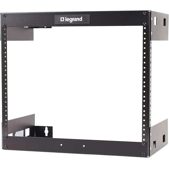 Legrand 8u Wall Mount Open Frame Rack - 18in Deep