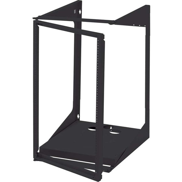 Legrand 19u Swing Out Wall Mount Open Frame Rack - 18in Deep