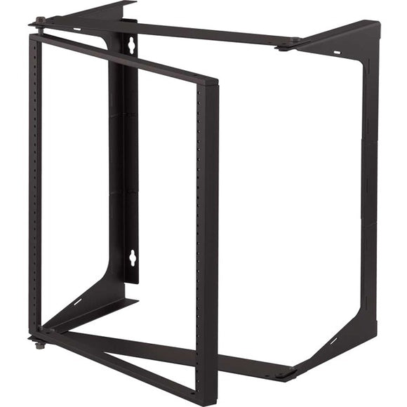 C2G 11U Swing Out Wall Mount Open Frame Rack - 25in Deep (TAA Compliant)