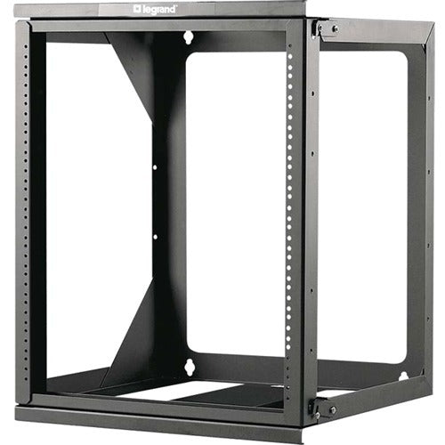 Legrand 12u Wall Mount Open Frame Rack - 18in Deep