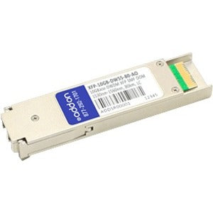 AddOn MSA and TAA Compliant 10GBase-DWDM 100GHz XFP Transceiver (SMF, 1533.47nm, 80km, LC, DOM)