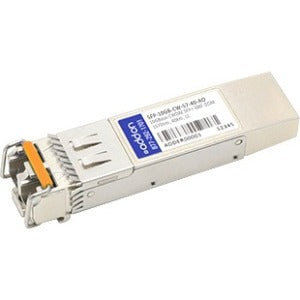 AddOn MSA and TAA Compliant 10GBase-CWDM SFP+ Transceiver (SMF, 1570nm, 40km, LC, DOM)