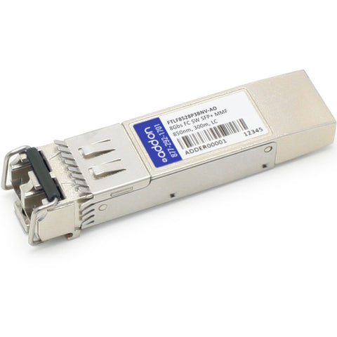 AddOn Finisar FTLF8528P3BNV Compatible TAA Compliant 8Gbs Fibre Channel SW SFP+ Transceiver (MMF, 850nm, 300m, LC)