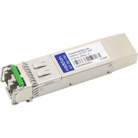 AddOn Finisar FTLX1871M3BCL Compatible TAA Compliant 10GBase-ZR SFP+ Transceiver (SMF, 1550nm, 80km, LC)