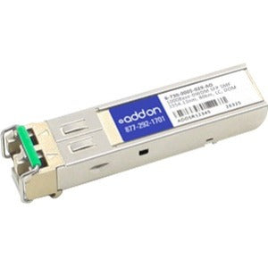AddOn Ciena B-730-0005-029 Compatible TAA Compliant 1000Base-DWDM 100GHz SFP Transceiver (SMF, 1554.13nm, 80km, LC, DOM)