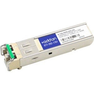 AddOn Ciena B-730-0006-043 Compatible TAA Compliant 1000Base-DWDM 100GHz SFP Transceiver (SMF, 1542.94nm, 120km, LC, DOM) - SystemsDirect.com