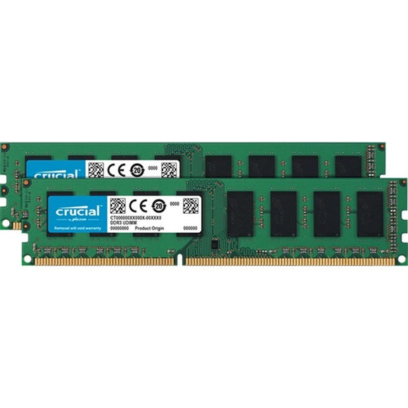 Micron Consumer Products Group 2-8gb Ddr3-1600 Udimm 1.35v Cl=11