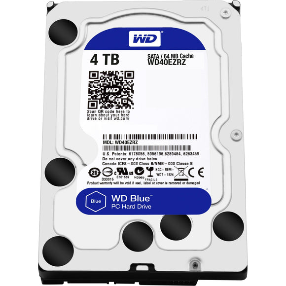WD Blue 4 TB 3.5-inch SATA 6 Gb-s 5400 RPM PC Hard Drive
