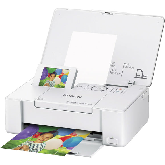 Epson PictureMate PM-400 Inkjet Printer - Color - 5760 x 1440 dpi Print - Photo Print - Desktop