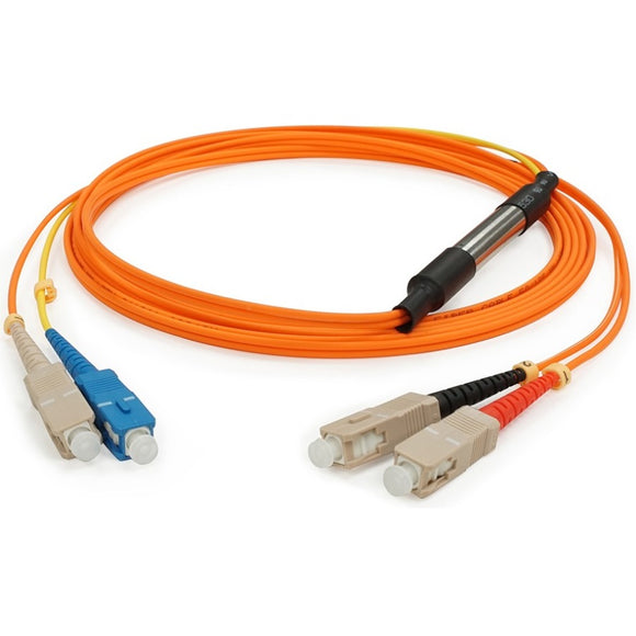 AddOn 3m Cisco CAB-GELX-625 Compatible SC (Male) to SC (Male) Orange OM1 & OS1 Duplex Fiber Mode Conditioning Cable