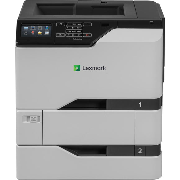 Lexmark CS720dte Laser Printer - Color - 2400 x 600 dpi Print - Plain Paper Print - Desktop