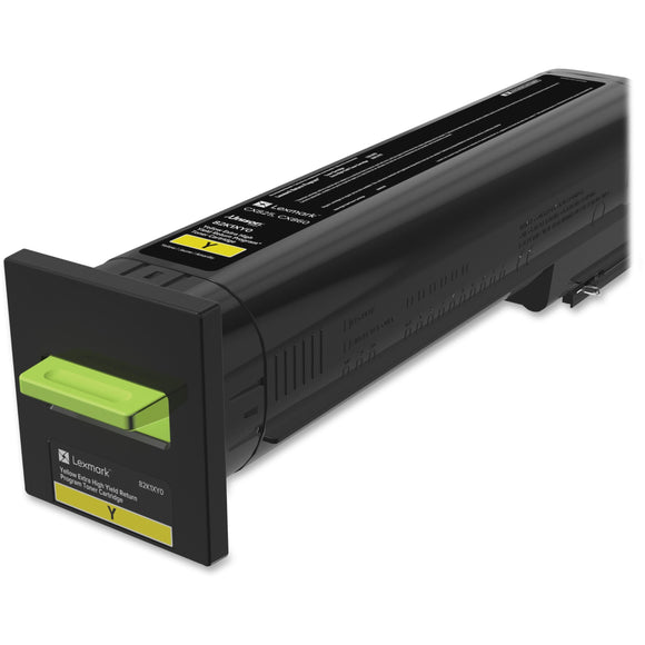 Lexmark Cx825 Cx860 Yellow Ehy Return Toner