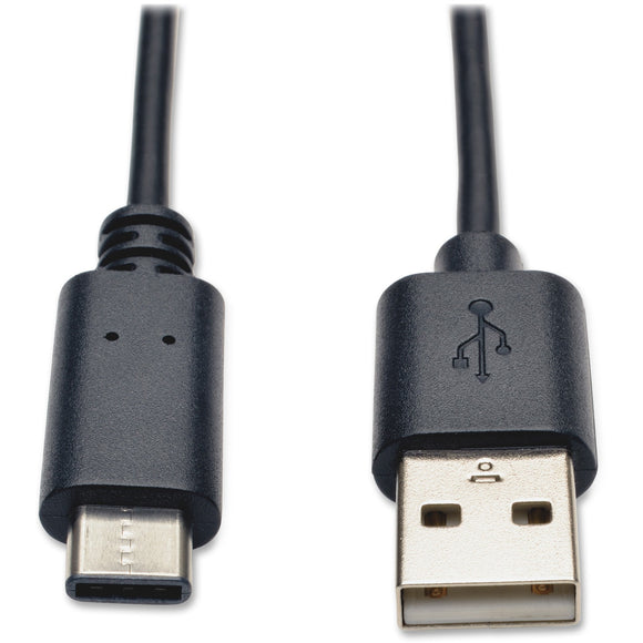 Tripp Lite 6ft USB 2.0 Hi-Speed Cable A Male to USB Type-C USB-C Male