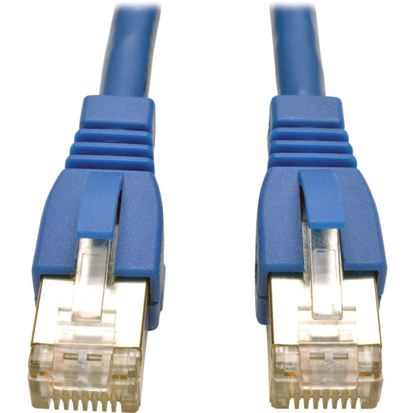 Tripp Lite 1ft Augmented Cat6 Cat6a Shielded 10G Patch Cable RJ45 Blue 1' -> May Require up to 5 Business Days to Ship