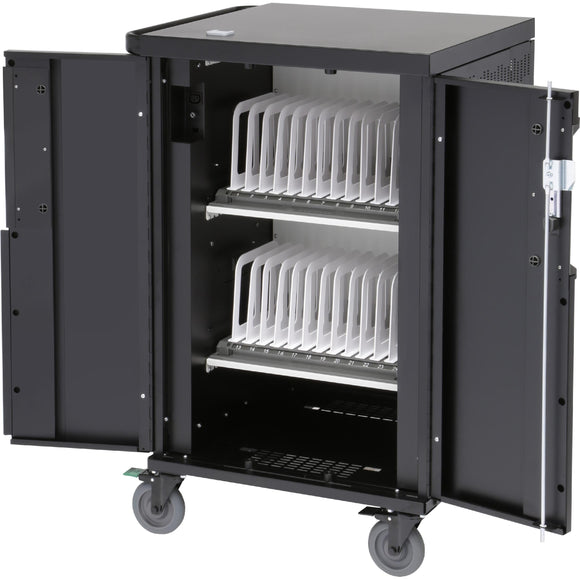 Bretford 2 Shelves, Store And Charge Up To 24 Devices, Ac Charging