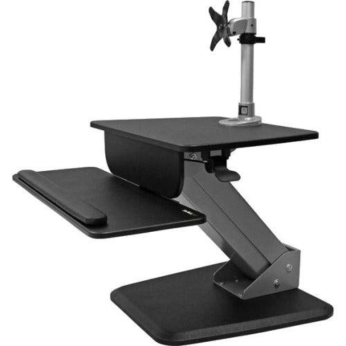 StarTech.com Single Monitor Sit-to-stand Workstation - One-Touch Height Adjustment