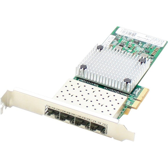 AddOn 1Gbs Quad Open SFP Port Network Interface Card