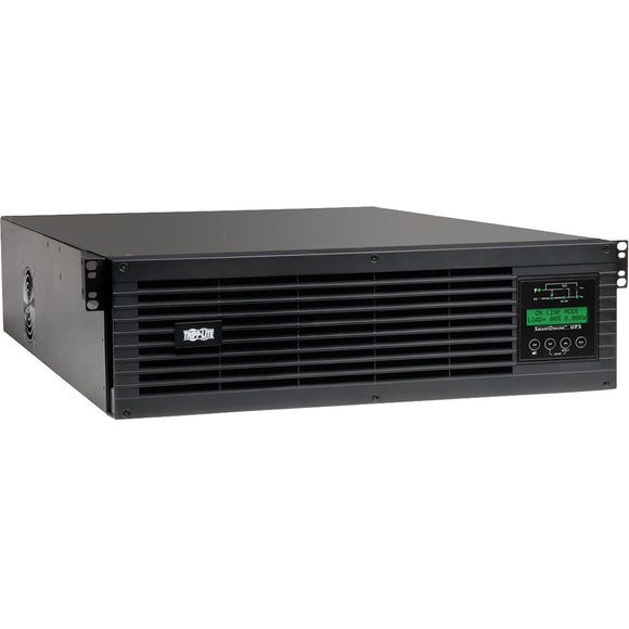 Tripp Lite 3000VA 2700W UPS Smart Online 120V w Installed WEBCARDLX 3URM