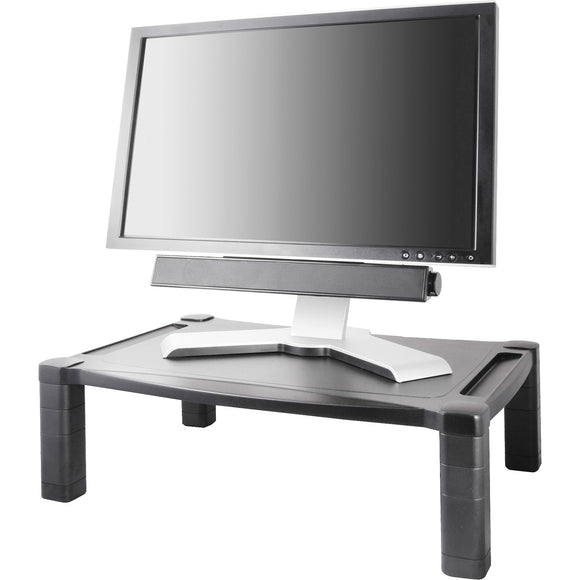 Kantek Extra Wide Adjustable Monitor Laptop Stand 20inx13in Single