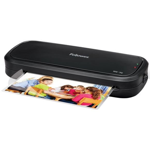 Fellowes M5'Ñ¢-95 Laminator with Pouch Starter Kit