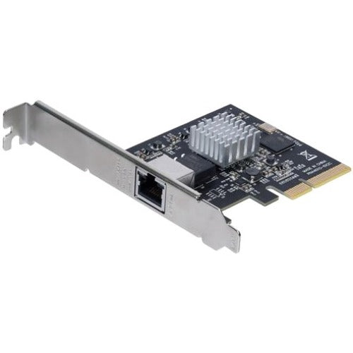 StarTech.com 1 Port PCI Express 10GBase-T - NBASE-T Ethernet Network Card - 5-Speed Network Support: 10G-5G-2.5G-1G-100Mbps - PCIe 2.0 x4