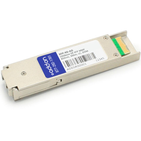 AddOn Rad XFP-4D Compatible TAA Compliant 10GBase-SR XFP Transceiver (MMF, 850nm, 300m, LC, DOM)