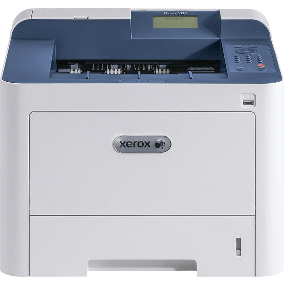 Xerox Phaser 3330 Black And White Printer, Letter-legal, Up Toto 42ppm, 2-sided Print,