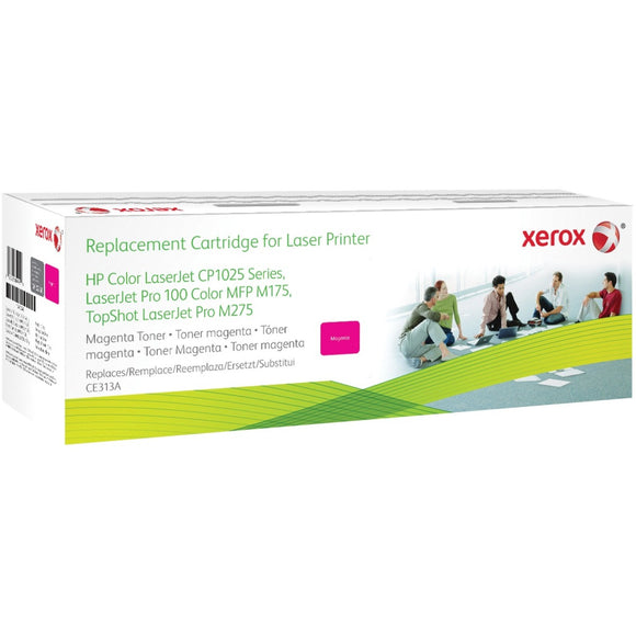 Xerox Magenta Toner Cartridge. Equivalent To Hp Ce313a. Compatible With Hp Colour Lase