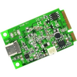 IO Crest Mini PCI-Express 2.0 to USB 3.1 Type-C Gen 2 card, ASM1142 Chipset