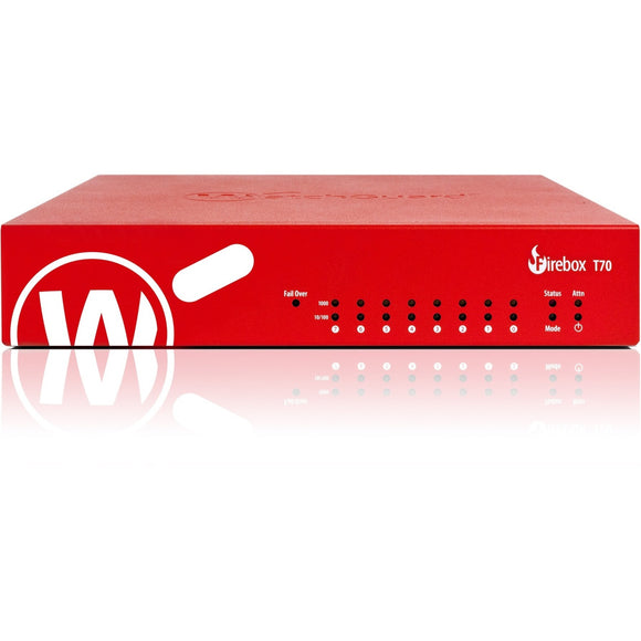 WatchGuard Firebox T70 High Availability with 3-yr Standard Support (US)