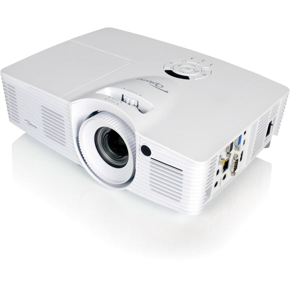 Optoma Technology Wxga (1280x800), 4500 Lumens, 20,000:1 Contrast, V Lens Shift, Full 3d, 1.6x Zoo