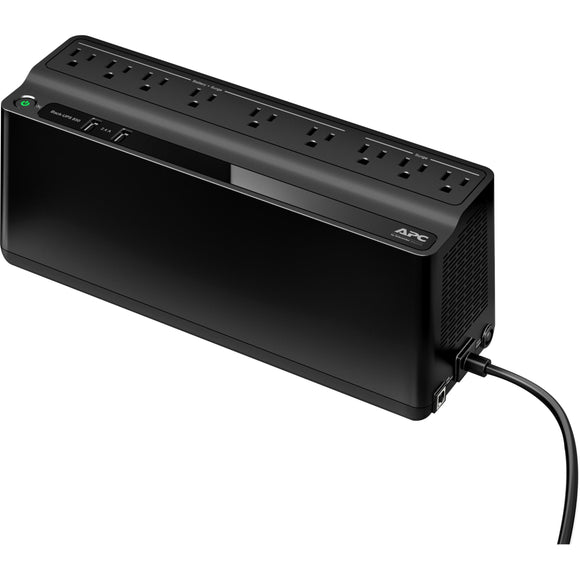 APC by Schneider Electric Back-UPS BE850M2, 850VA, 2 USB charging ports, 120V