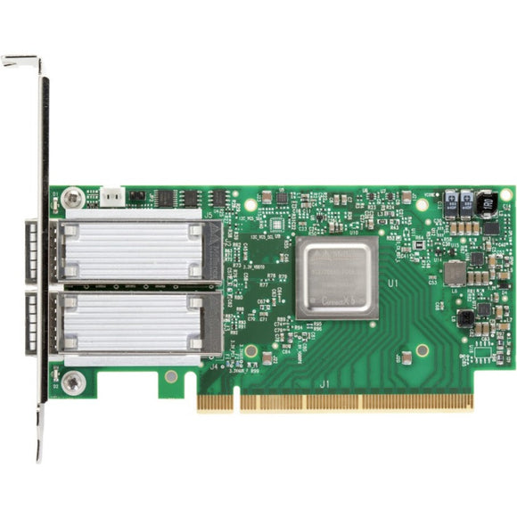 Mellanox ConnectX-5 Single-Dual-Port Adapter Supporting 100Gb-s Ethernet