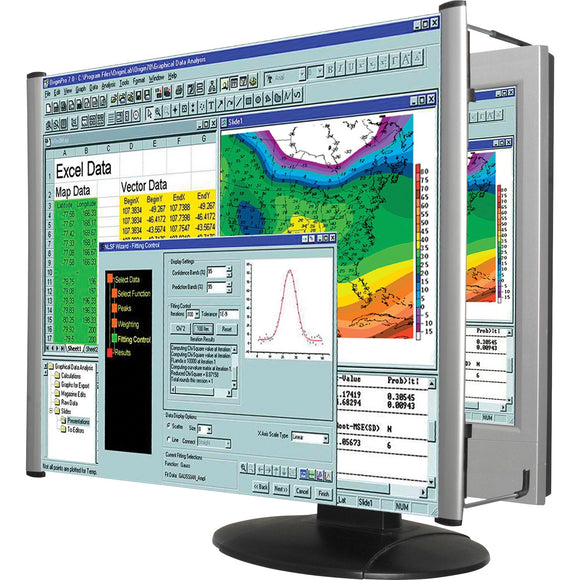 Kantek Lcd Monitor Magnifier Fits 24in Widescreen Monitors