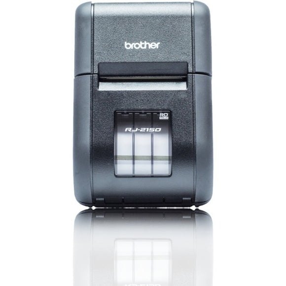 Brother RuggedJet RJ-2150 Direct Thermal Printer - Monochrome - Portable - Label-Receipt Print