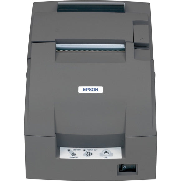 Epson TM-U220B Dot Matrix Printer - Two-color - Desktop, Wall Mount - Receipt Print