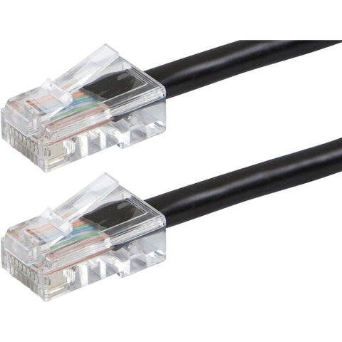 Monoprice ZEROboot Series Cat6 24AWG UTP Ethernet Network Patch Cable, 5ft Black