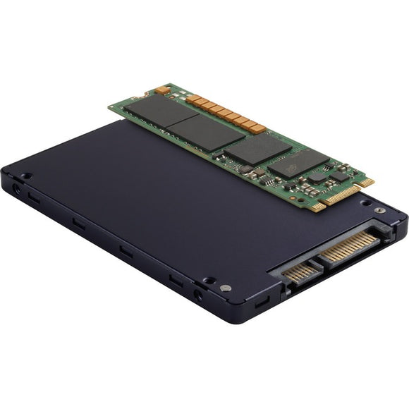 Micron 5100 5100 ECO 480 GB Solid State Drive - M.2 2280 Internal - SATA (SATA-600) - Black, Gold, Green