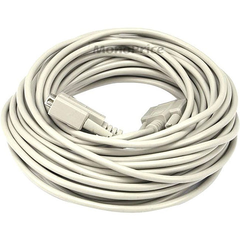 Monoprice 50ft DB 9 M-F Molded Cable