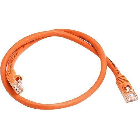 Monoprice Cat6 24AWG UTP Ethernet Network Patch Cable, 2ft Orange