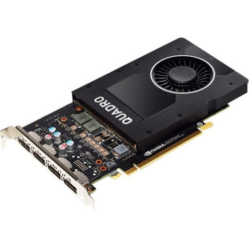 PNY Quadro P2000 Graphic Card - 5 GB GDDR5 - Full-height - Single Slot Space Required
