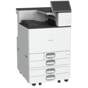 Ricoh SP C840DN Laser Printer - Color - 1200 x 1200 dpi Print - Plain Paper Print - Desktop
