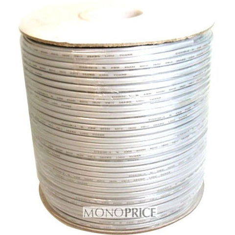Monoprice 8 Wire, UL, 26AWG, Stranded, Silver - 1000ft