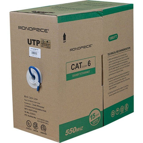 Monoprice Cat. 6 UTP Network Cable