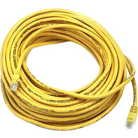 Monoprice Cat5e 24AWG UTP Ethernet Network Patch Cable, 75ft Yellow
