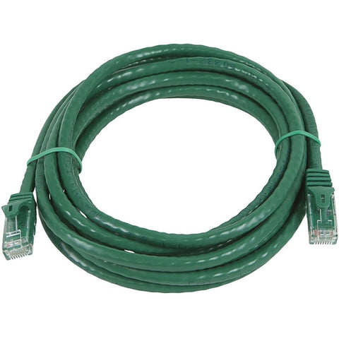 Monoprice FLEXboot Series Cat5e 24AWG UTP Ethernet Network Patch Cable, 14ft Green