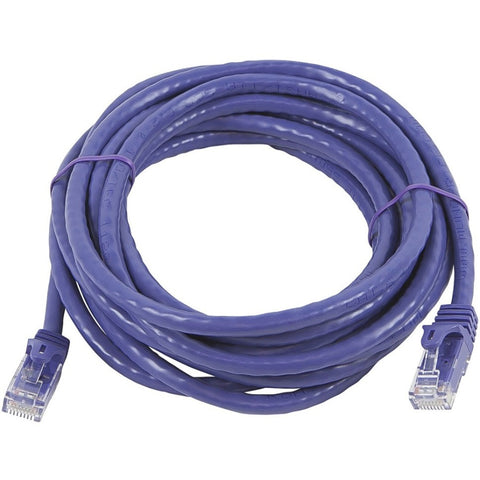 Monoprice FLEXboot Series Cat5e 24AWG UTP Ethernet Network Patch Cable, 14ft Purple